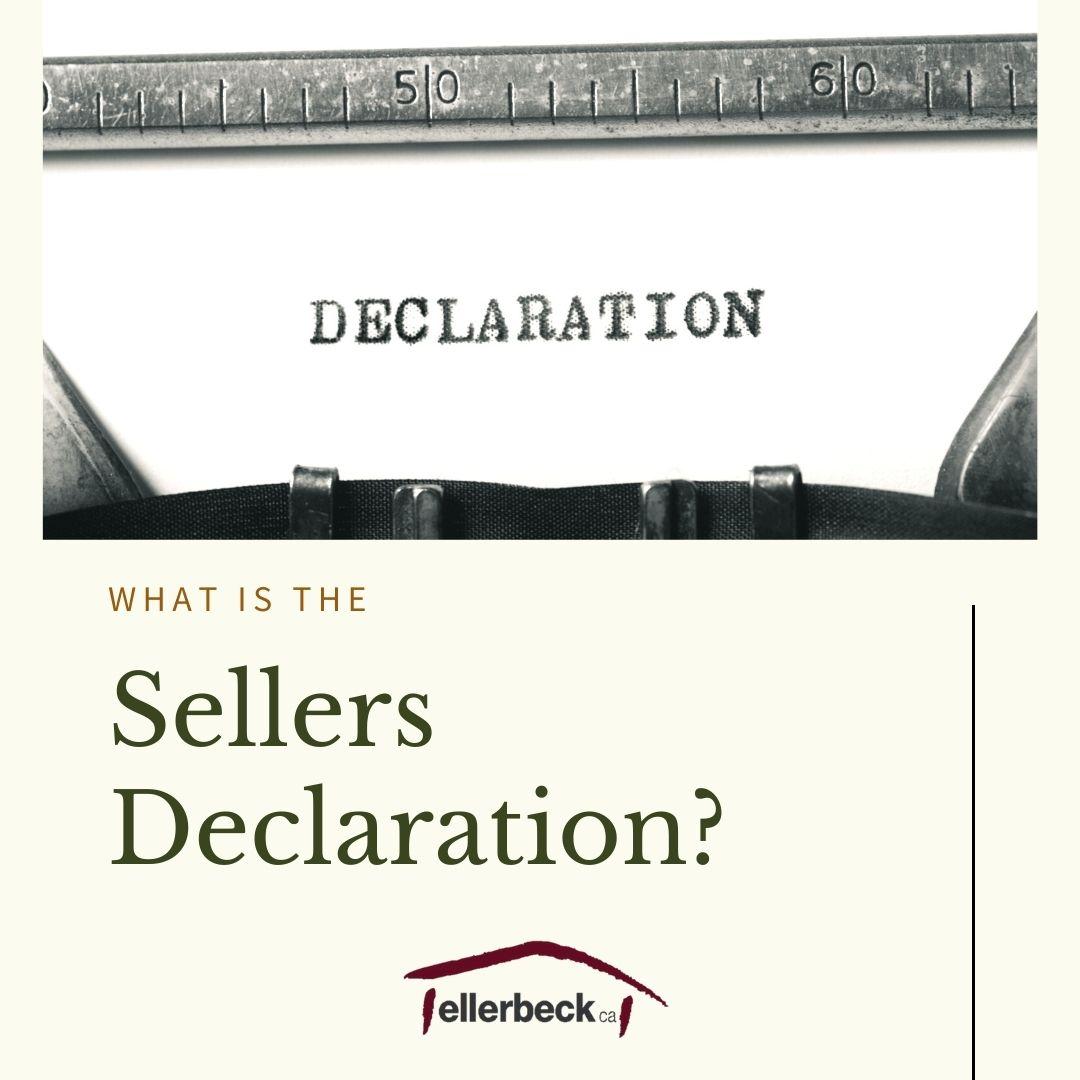 Sellers Declaration