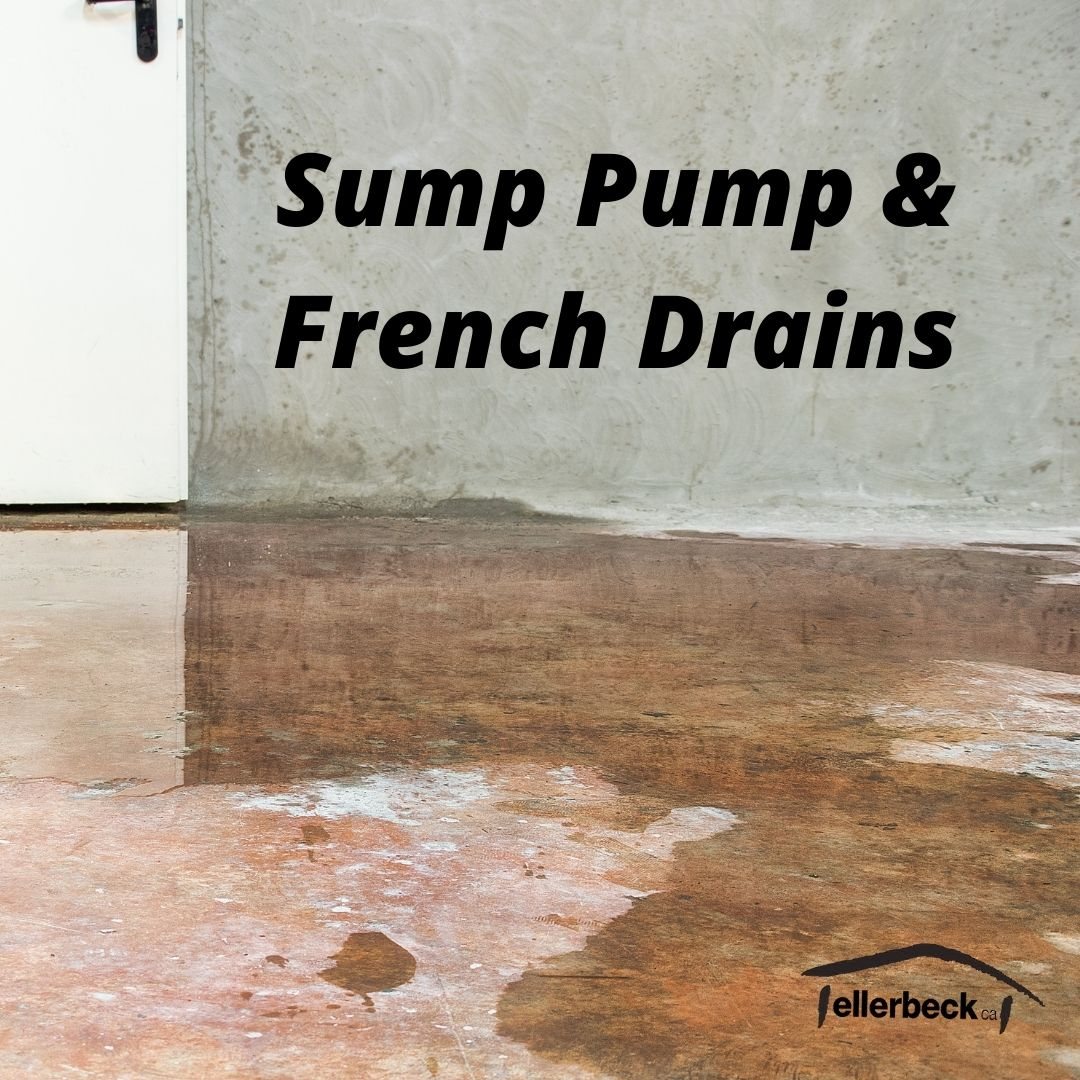French Drains and Sump Pumps